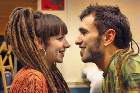 Irene Manzano y Carlos Martín