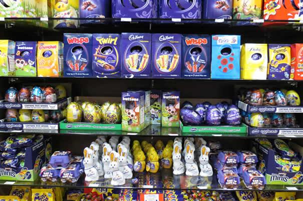 Tienda de la fabrica de chocolate de Cadbury