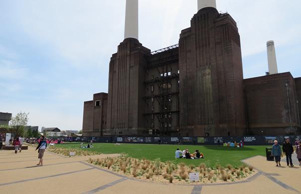 Battersea Power Station - Park