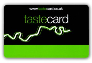 tarejta de restaurantes tastecard