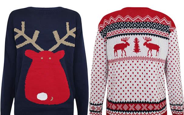 Jerseys navideños muy populares en UK.