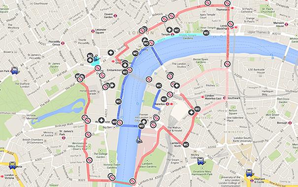 Dónde ver los fuegos artificales en Londres