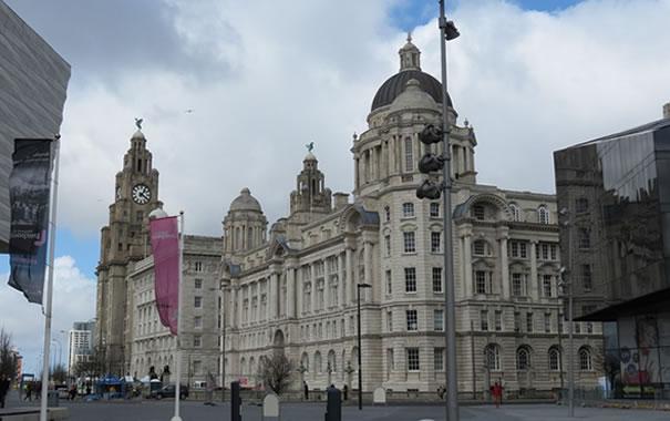 Arquitectura de Pier Head, Liverpool