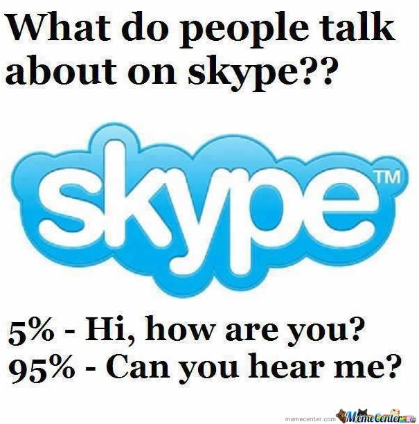 Skype meme