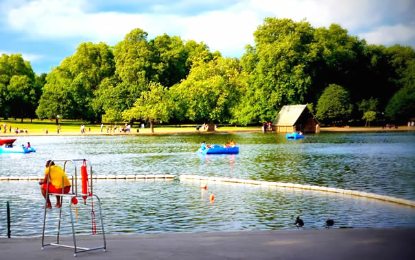 Serpentine Lido - Hyde Park