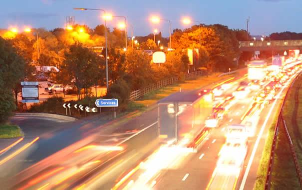 autopista en UK