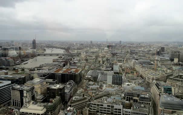 Vista desde Sky Garden