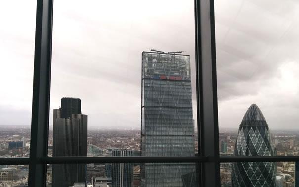 Vista desde Sky Garden - rascacielos de la City