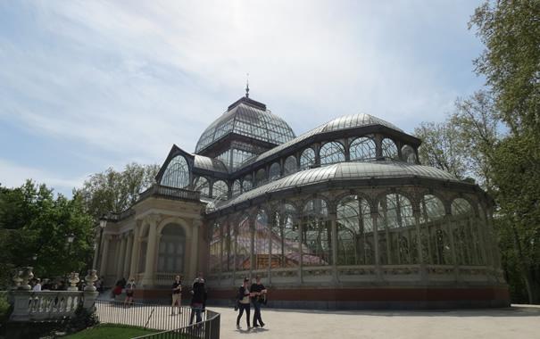 Palacio de cristal - Parque de El Retiro - Madrid