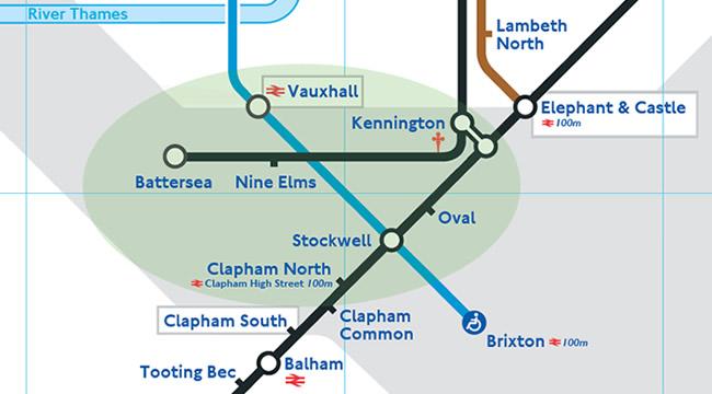 2 nuevas estaciones en la Northern line - Mapa del metro de londres