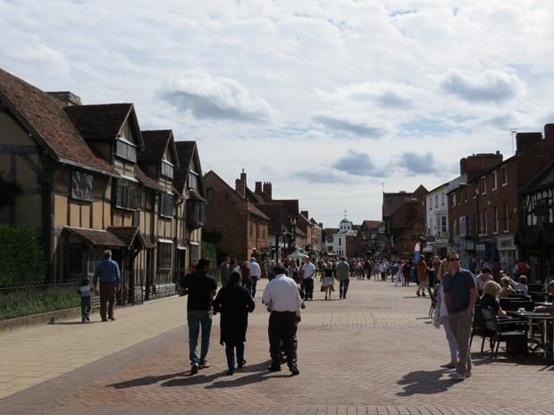 Henley Street – Shakespeare's Birthplace - Sratford-upon-Avon