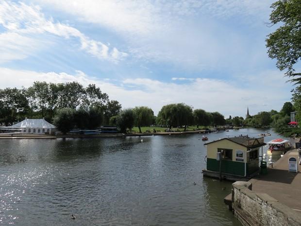 Río Avon - Sratford-upon-Avon