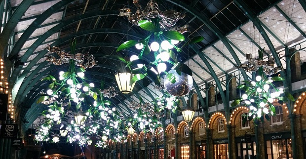 Covent Garden Xmas lights 2015