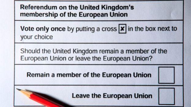 Referéndum Uk para dejar la UE