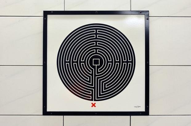 laberinto metro en bank