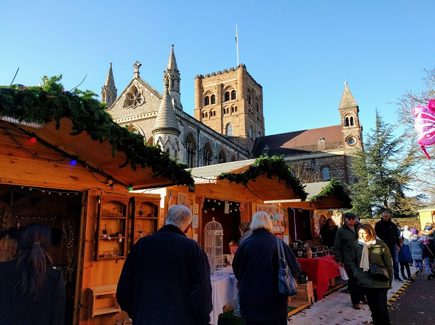 St Alban's christmas market