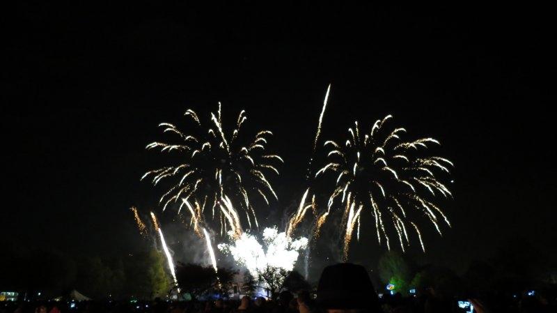 Bonfire Night fireworks - Battersea Park - London