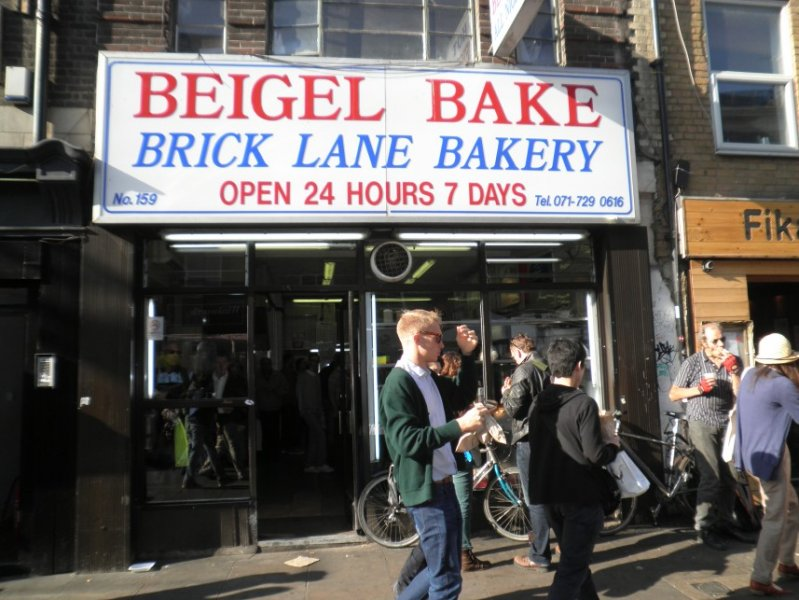 Brick Lane - Beigel shop