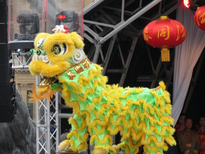 Chinese New Year 2012 London - The year of the dragon
