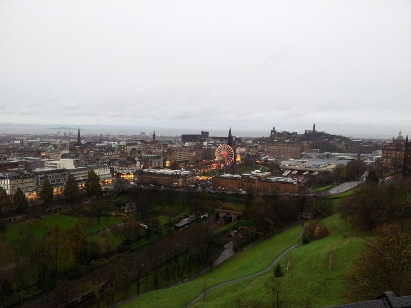 Edinburgh castle views