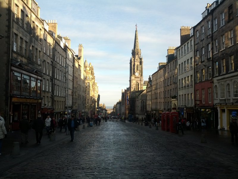 Edinburgh - Royal mile