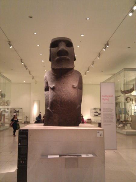 British Museum - Escultura isla de Pascua