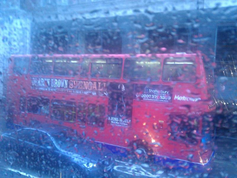 Llluvia en Londres