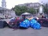 Trafalgar Square - Acampada protesta
