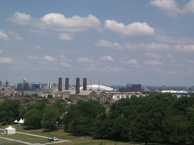 Greenwich Park views