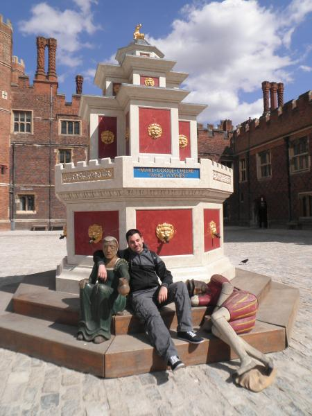 Hampton Court Palace - Fuente de vino