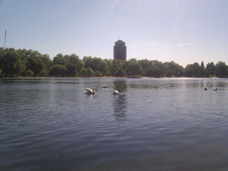 Hyde Park - lago
