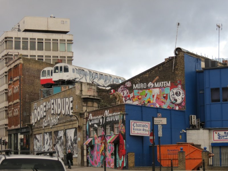 near Old Spitalfields Market