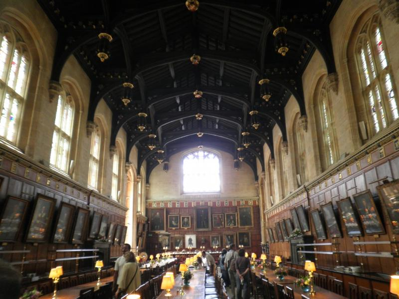 Oxford - Christ Church College - Hall