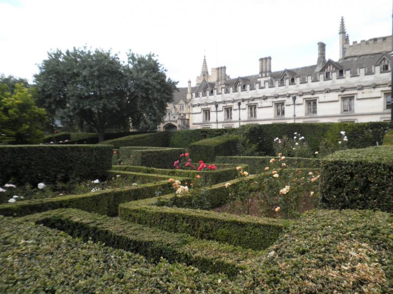 Oxford - Jardín botánico