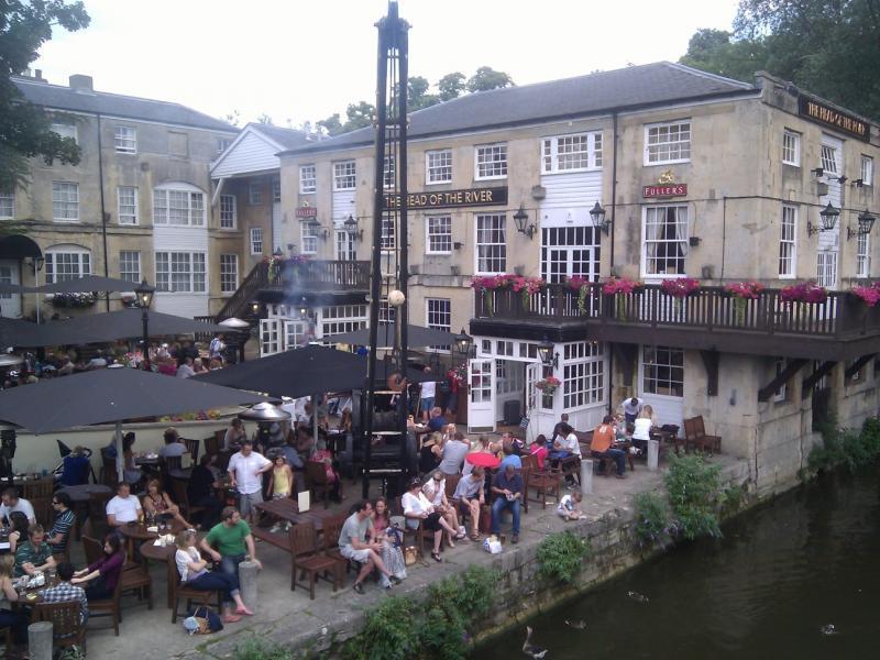 Oxford - Near the river