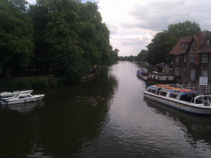 Oxford - The river