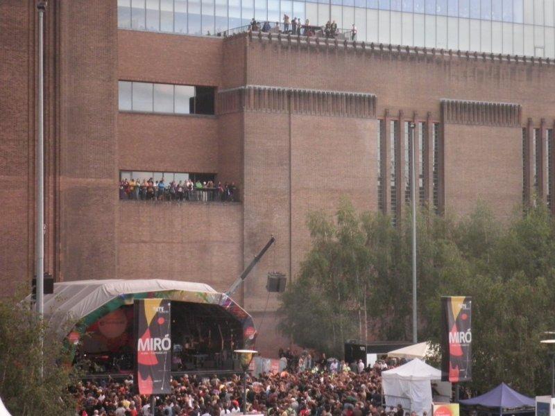 Thames Festival 2011 - Escenario Tate Modern
