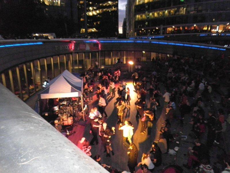 Thames Festival 2011 - Al Fresco Tango