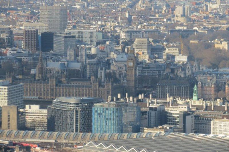 Westminster Parliament - The Shard