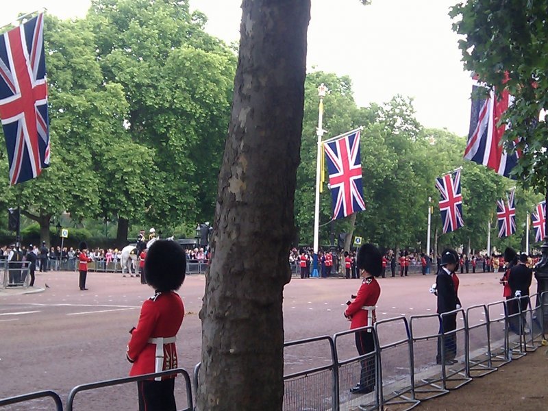 Trooping the colour 2011
