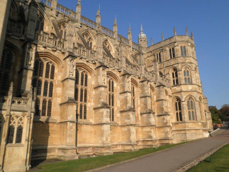 Windsor castle - Capilla de San Jorge