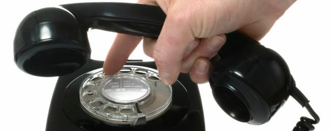 Llamada telefónica en inglés
