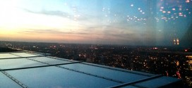 Views from restaurant SushiSamba in London