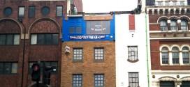 Casas boca abajo en Londres