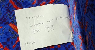 London Tube seat