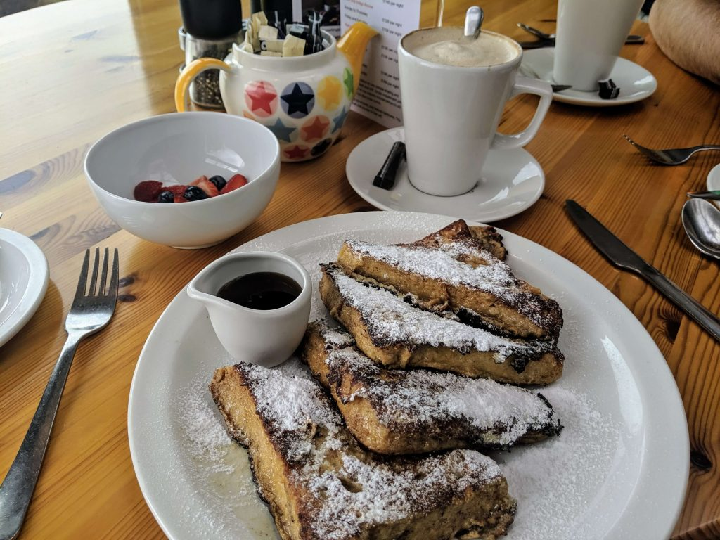 French toasts, Hayden's B&B, Rye